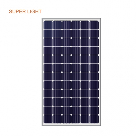 Super light solar panel